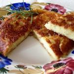Frico con patate e cipolla (friuli)