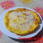 frittata ai 4 formaggi