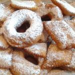 Frittelle di carnevale con patate
