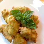 frittelle di zucchine e fiori di zucca - le ricette di max