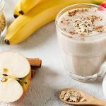 Frullato banana mela e cacao (bimby)
