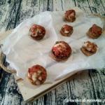 Funghi champignon ripieni di salsiccia e provola