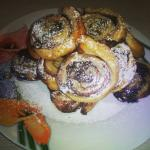 girelle dolci con nutella e confettura di more