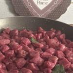 Gnocchi di barbabietole e ricotta - ricetta passo passo