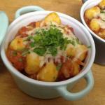 Gnocchi di patate gratinati in cocotte - Le ricette di Maria Grazia