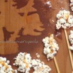 I popcorn  dolci della befana