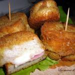 Il pane fritto ripieno/ stuffed fried bread