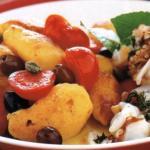 Insalata di polipo pomodori e patate