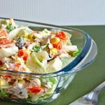 insalata di pollo con maionese