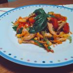 insalata di pollo estiva