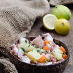 Insalata di polpo con patate e carote