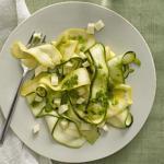 Insalata zucchine e mozzarella