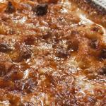 lasagna al ragu' di salsiccia e funghi