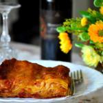 Lasagna casareccia tradizionale