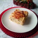 lasagnetta di crêpes con zucchine e salmone