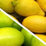 Limoni e lime ghiacciati