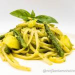 Linguine al pesto con fagiolini e patate – gluten free