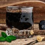 liquore alla menta e liquirizia (bimby)
