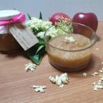 Marmellata di mele al profumo di fiori di sambuco
