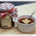 Marmellata di prugne selvatiche, zenzero e anacardi