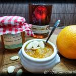 Marmellata di zucca, arance e mandorle aromatizzata al rum