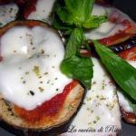 Melanzane alla pizzaiola ( cottura in forno)