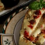melanzane con salsa mornay