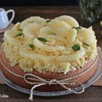 Mimosa all'ananas ( senza tagliare il pan di spagna)