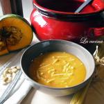 Minestra di fave secche e zucca / Broad beans and pumpkin soup
