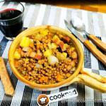 Minestra di lenticchie e patate