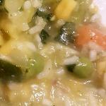 minestra di platessa con verdure (bimby)