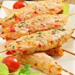 minikebab di pollo e peperoni