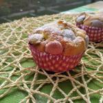 muffin con gli smarties, la merenda dei campioni