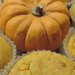 muffin zucca e salmone