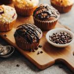 Muffins in 4 gusti diversi