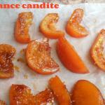 Natale si avvicina: arance candite