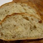 Pan ciabatta senza impasto con crusca, semi di girasole e solo 1 g di lievito