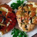 Pane all'aglio e formaggio ( ricetta di recupero)