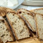 Pane con farina di farro bianco (Triticum spelta)