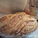 pane di grano tenero con farina di tipo 1 del molino cipolla