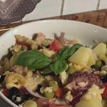Panzanella di polpo e patate