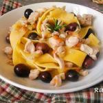 Pappardelle al ragù di coniglio e olive - Rita's Kitchen
