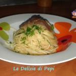 Pasta aglio olio e alici