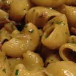 Pasta ai carciofi e prosciutto crudo