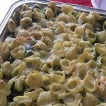 pasta al forno con gorgonzola e spinaci