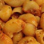 Pasta al ragù di platessa e olive