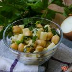 pasta e ceci fredda – ricetta insalata di pasta