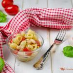 Pasta e fagioli fredda – ricetta insalata di pasta