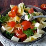 Pasta fredda tricolore