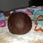 Pasta frolla lievitata al cacao